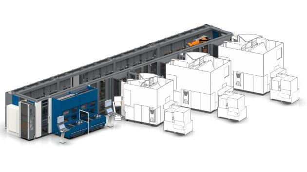 Palettenautomation Palmaster RL
