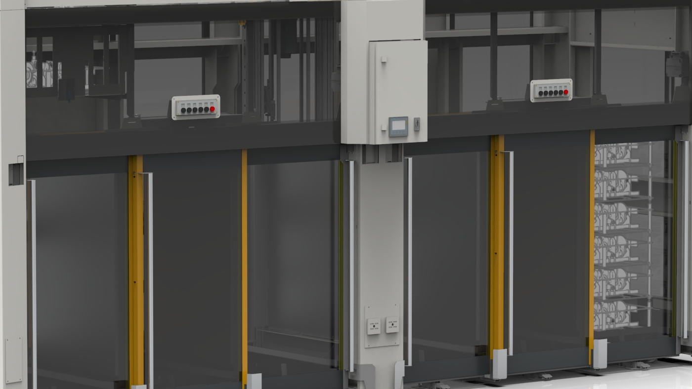 Entkopplungsmodul für Materialflussverkettungen