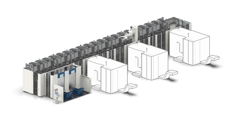 Palettenautomation